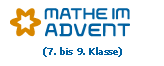 Etikett Mathe im Advent